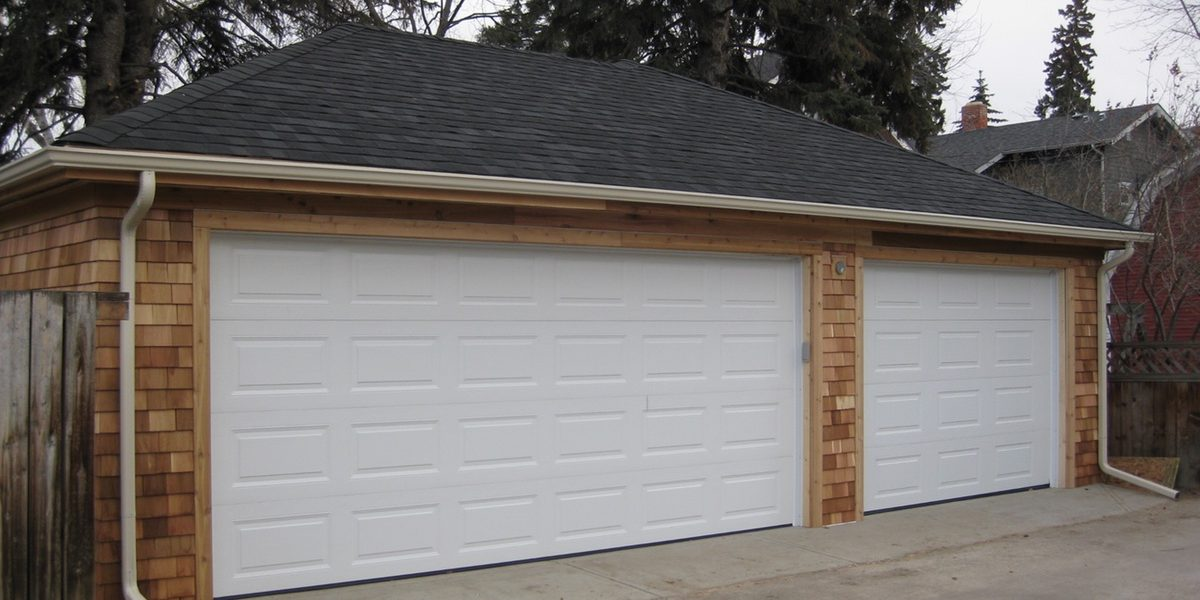 New garage building