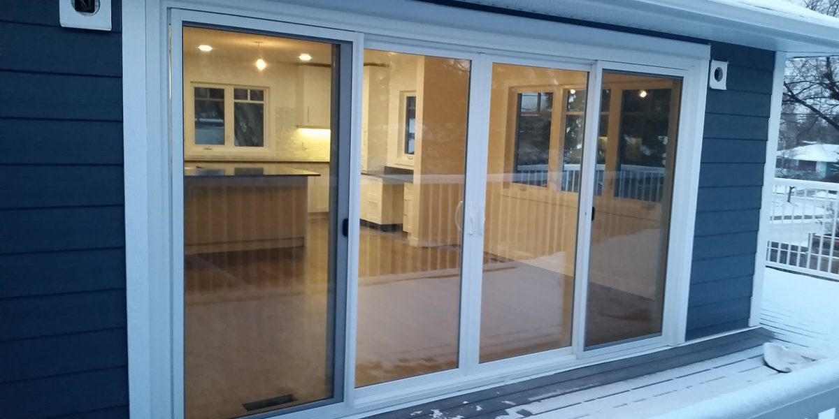 newly installed windows and doors