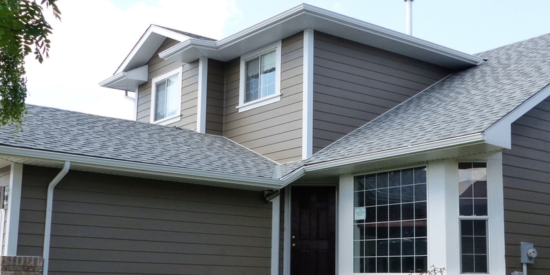 Grey Shingles Newly installed