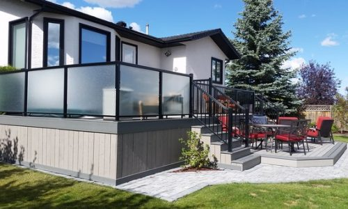 Cedar Deck Skirting - Calgary's Best Deck Builder